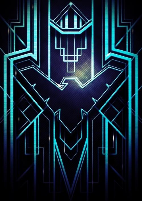 Nightwing Symbol Wallpaper Hd 500x707
