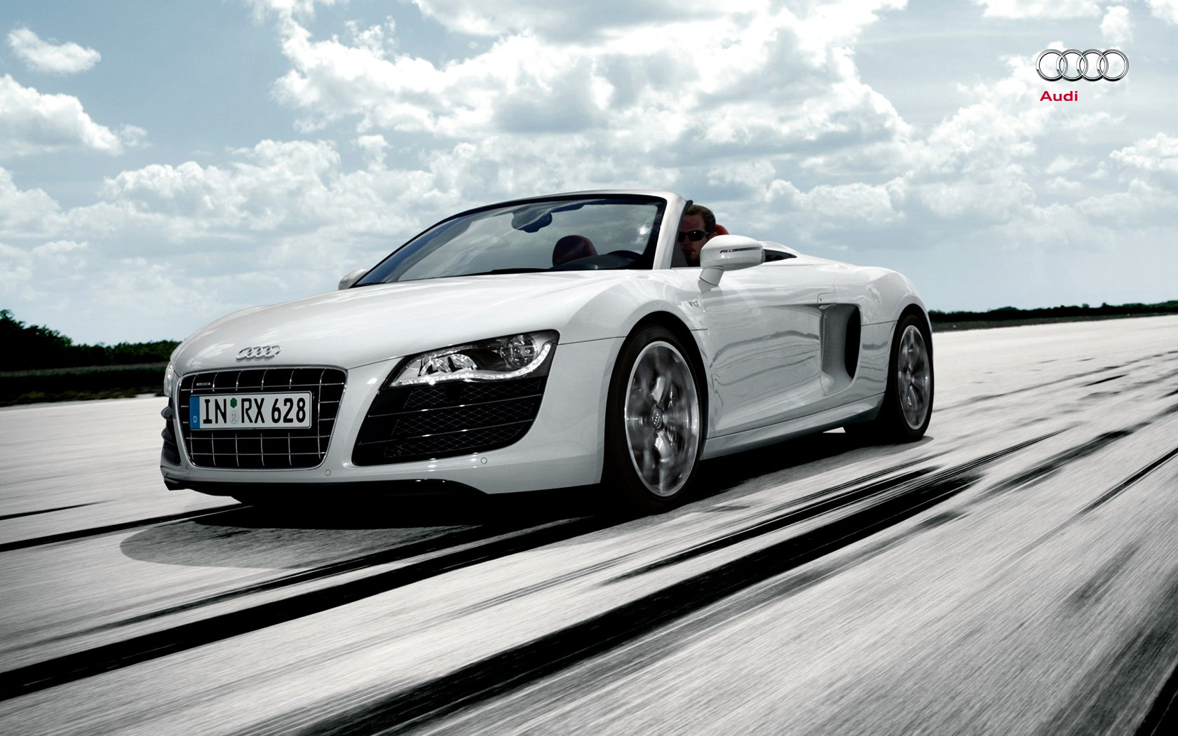 Audi R8 Spyder Wallpaper Best Wallpapers HD Gallery 1680x1050