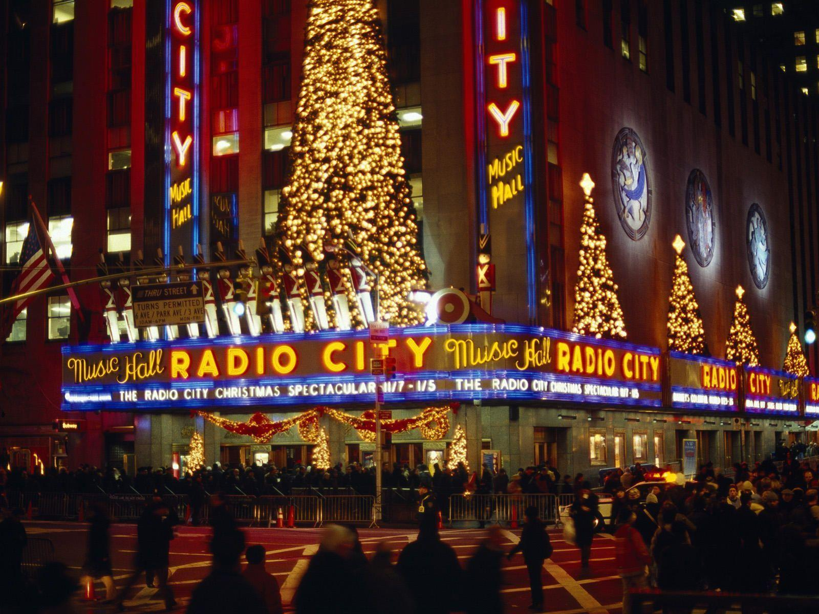 New York Christmas Wallpapers 1600x1200