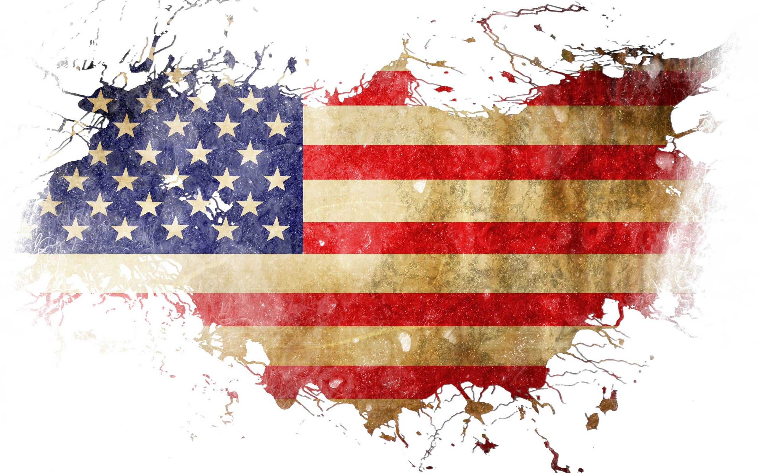 American Flag Backgrounds 2560x1600