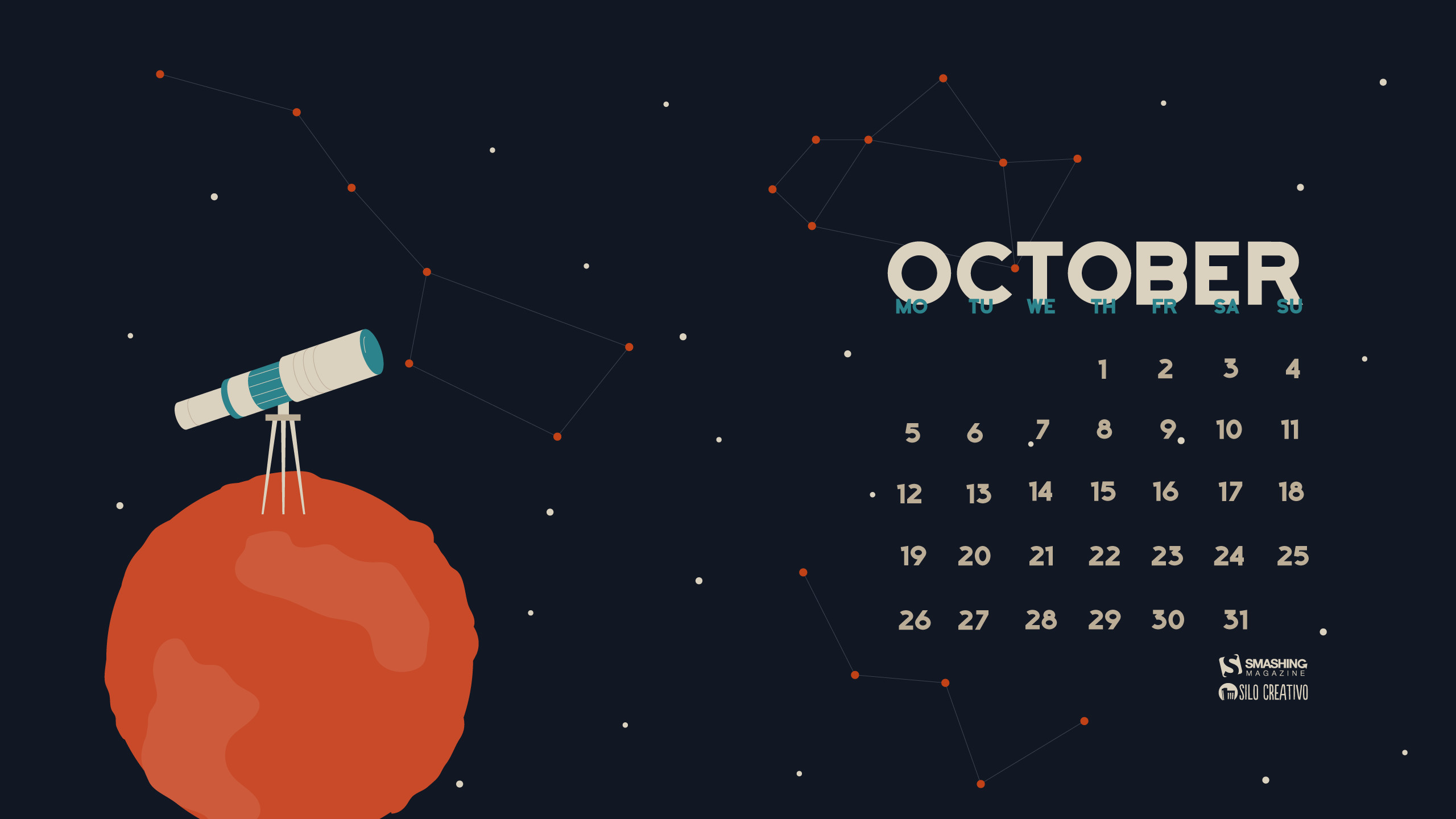 Desktop Wallpapers Calendar July 2018 2560x1440
