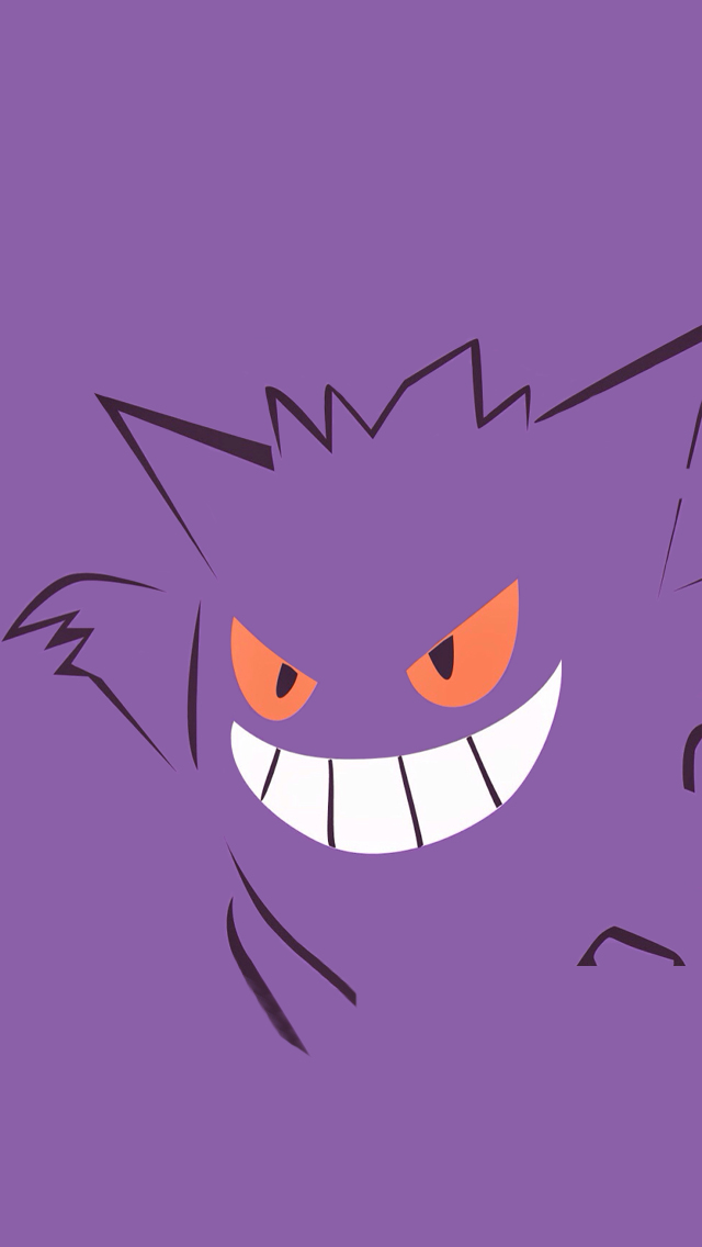 Purple Pokemon iPhone 5 Wallpaper 640x1136 640x1136