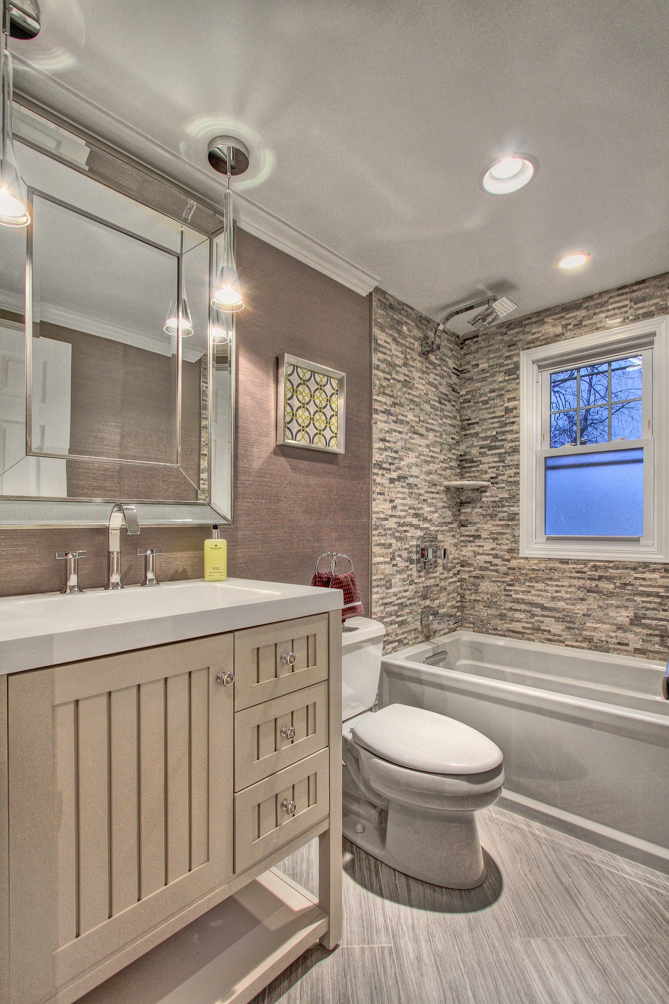 want this exact powder room but the mirror needs to be larger House 1333x2000