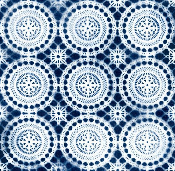 Boho Wallpaper Indigo houseofsix 600x585