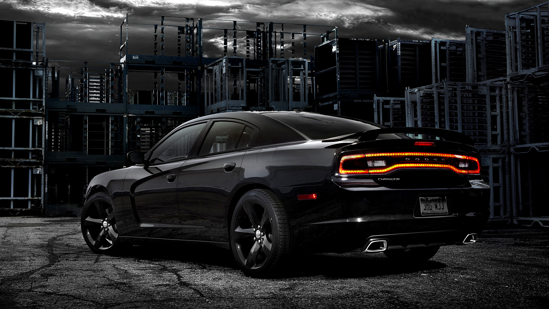 Black Dodge Charger Wallpaper Wallpapersafari