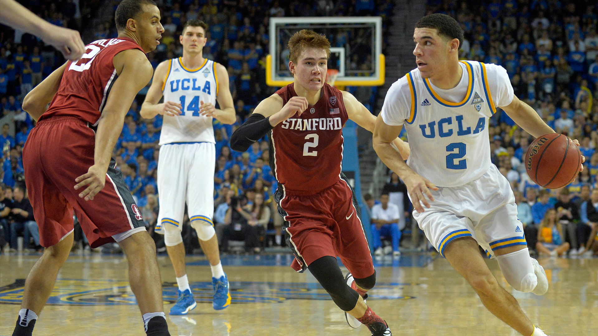 Ball too much to handle as Stanford falls to UCLA NBCS Bay Area 1920x1080
