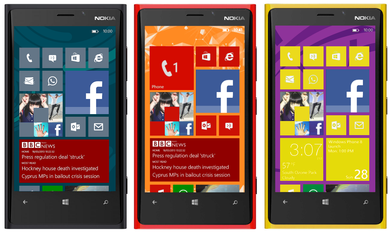 New Windows Phone 81 video reveals Start screen backgrounds parallax 1363x814