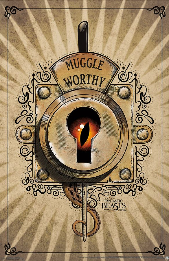 Fantastic Beasts And Where To Find Them Muggle Worthy Poster 584x903