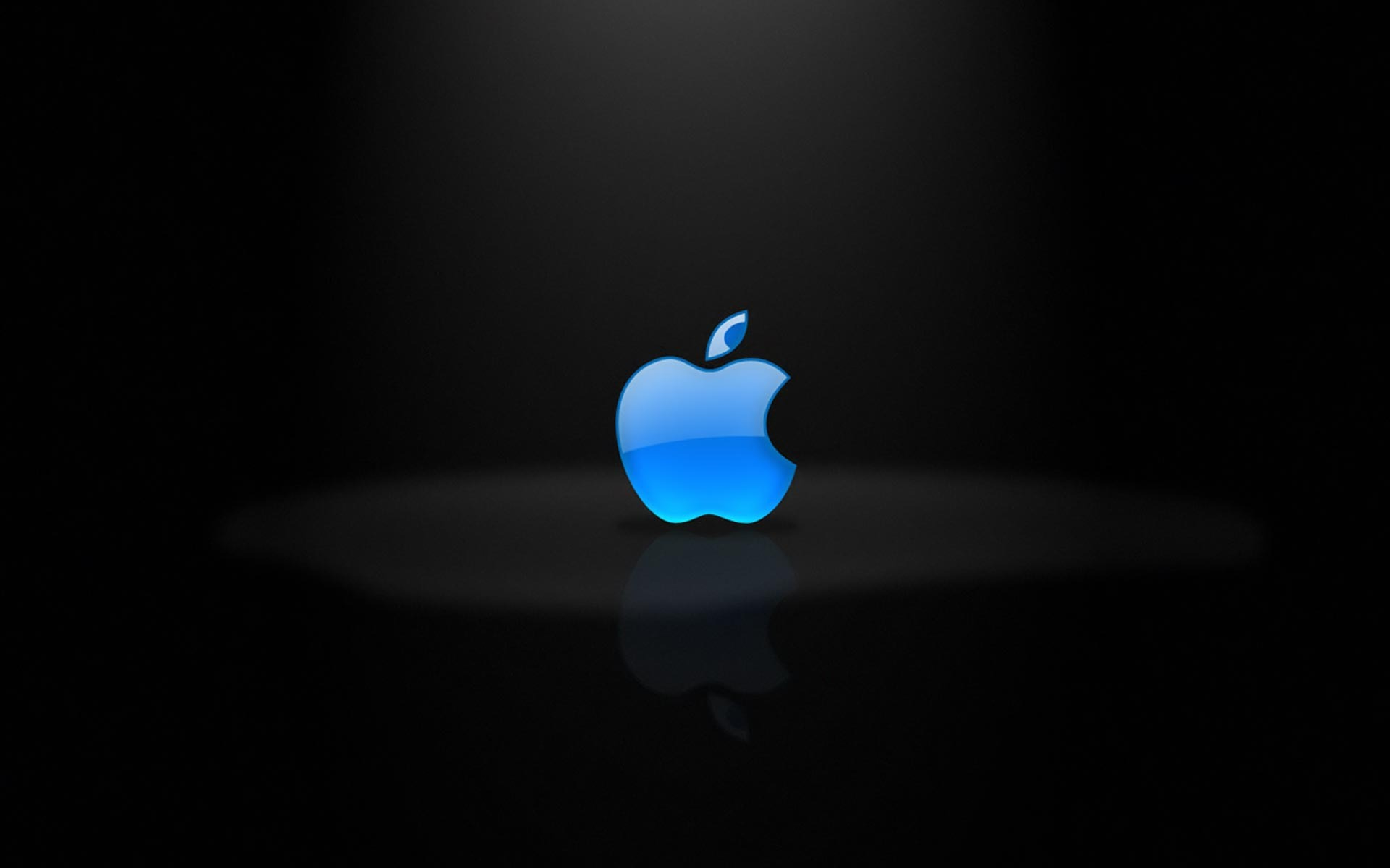 Blue Apple logo wallpaper 522 1920x1200