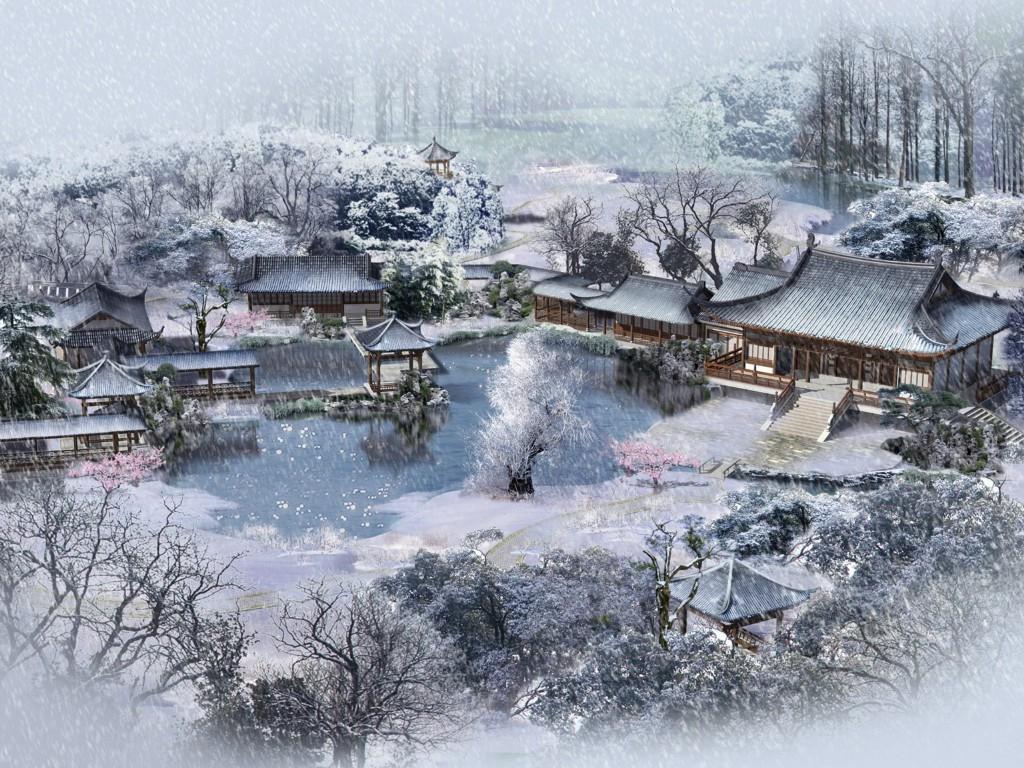 Winter Japan Wallpaper Wallpapersafari