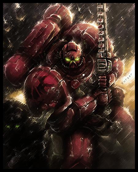 Warhammer 40k Blood Angels by Thursar 450x560