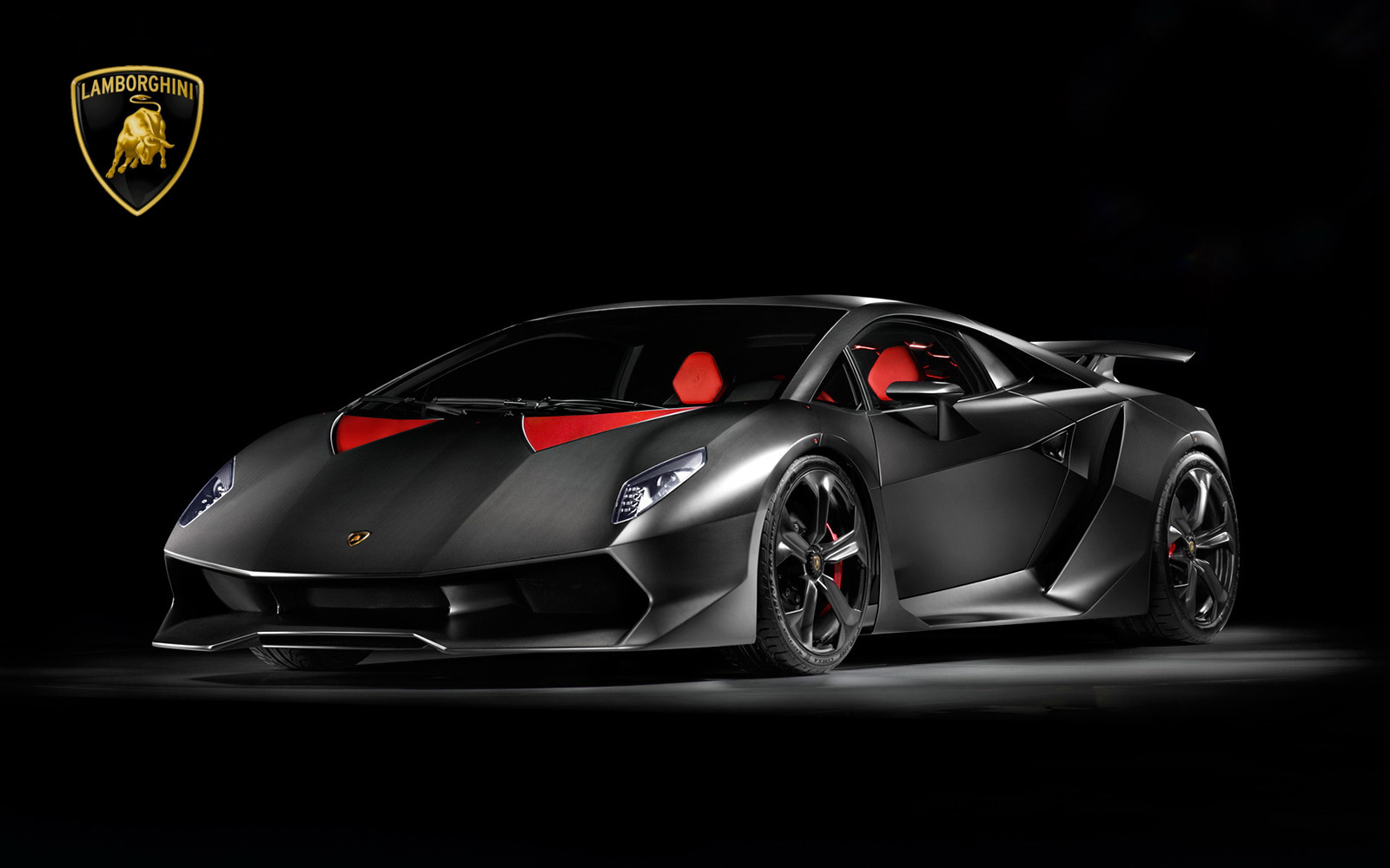 HD wallpaper Lamborghini Sesto Elemento Hd Wallpaper For Desktop by 1600x1000