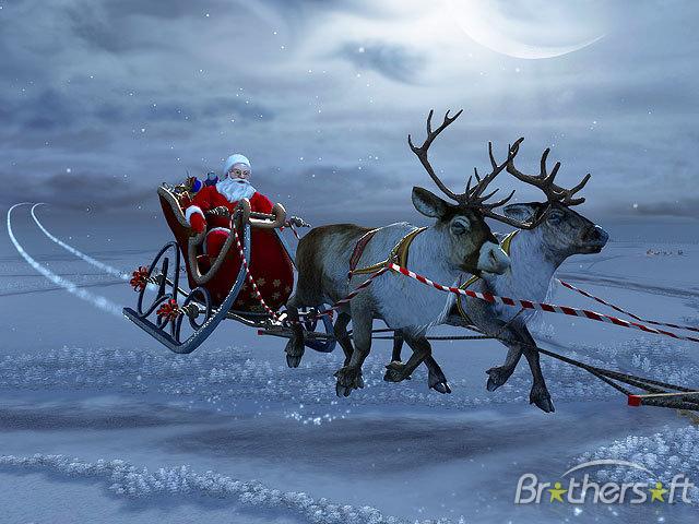Download Santa Claus 3D Screensaver Santa Claus 3D Screensaver 1 640x480