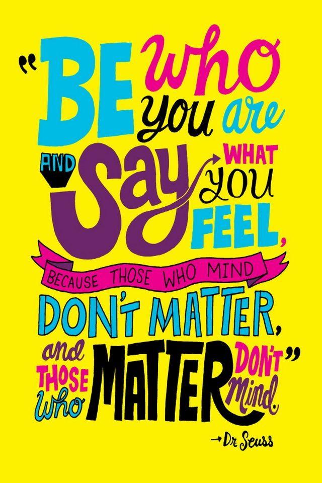 Dr Seuss quote wallpaper Quotes Pinterest 640x960
