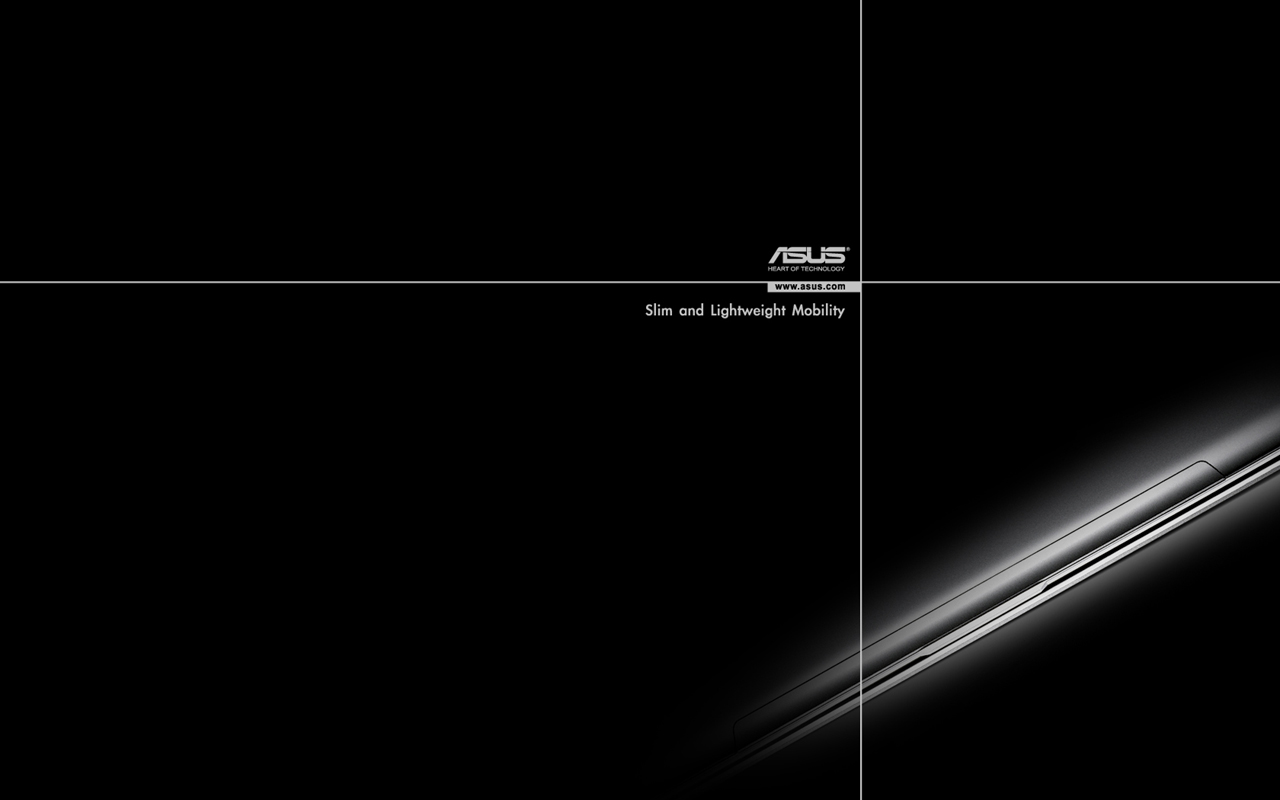 asus wallpaper black backgroundjpg 1280x800
