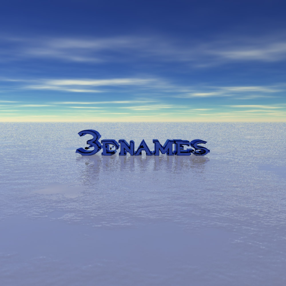 Free Download 3D Name Wallpapers Make Your Name In 3D
