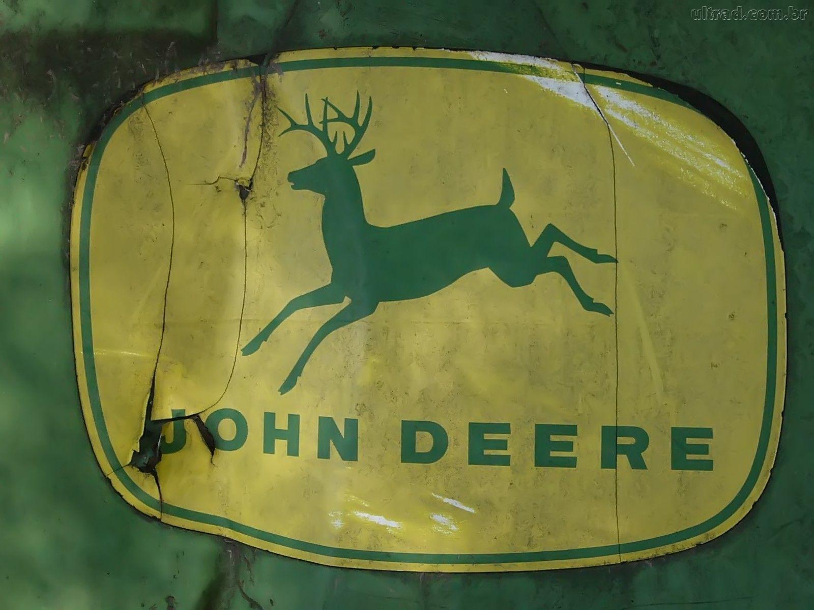 wallpaper john deere papel de parede com logotipo da john deere 1600x1200