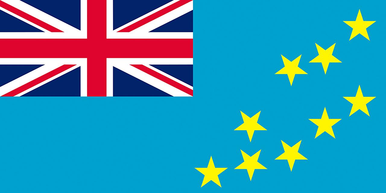 Wallpapers Tuvalu Flag 1280x640