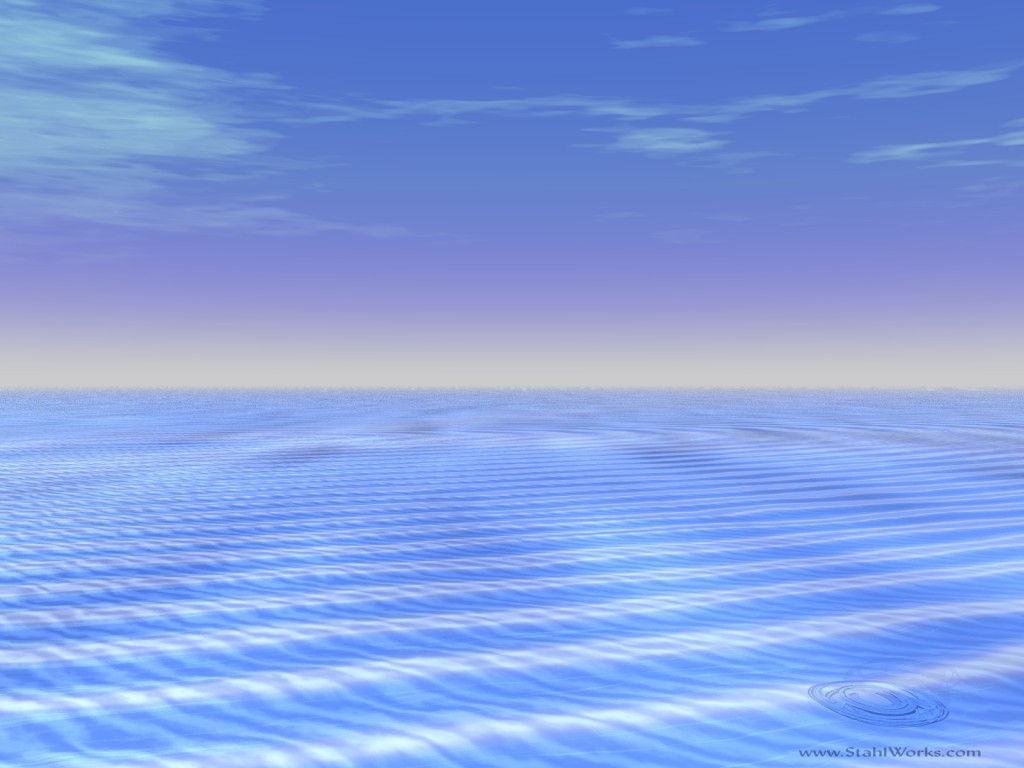 Caribbean Seascape Desktop Wallpaper 1024x768 resolution 1024x768