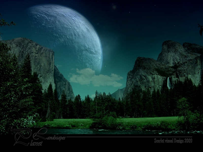 One Night in Yosemite   Desktop Wallpaper   yosemite   planet   park 800x600