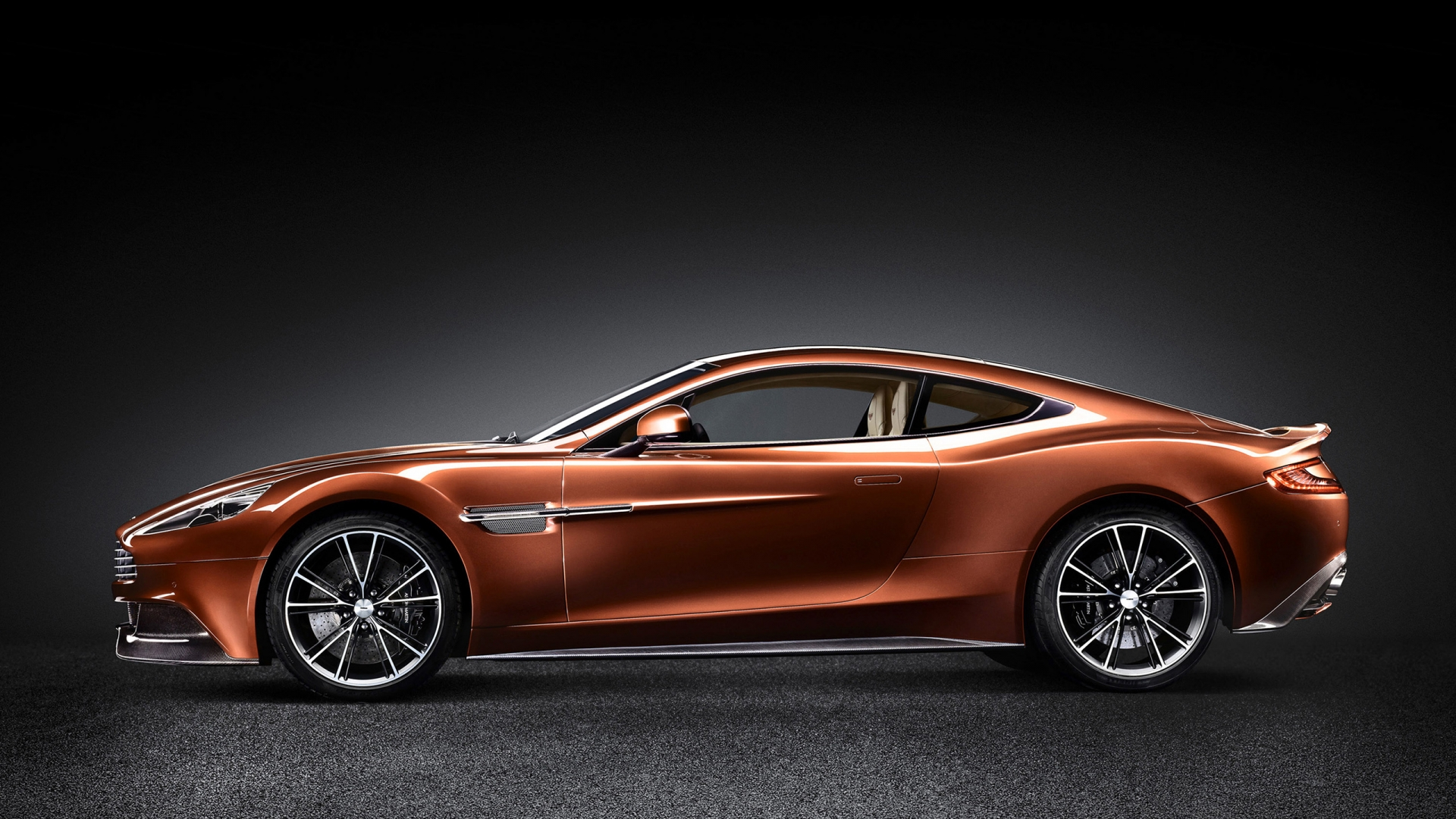 Aston martin vanquish side view   High Definition Wallpapers   HD 1920x1080