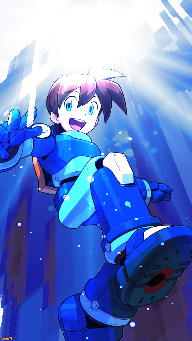 mega man 1 wallpaper wallpapersafari