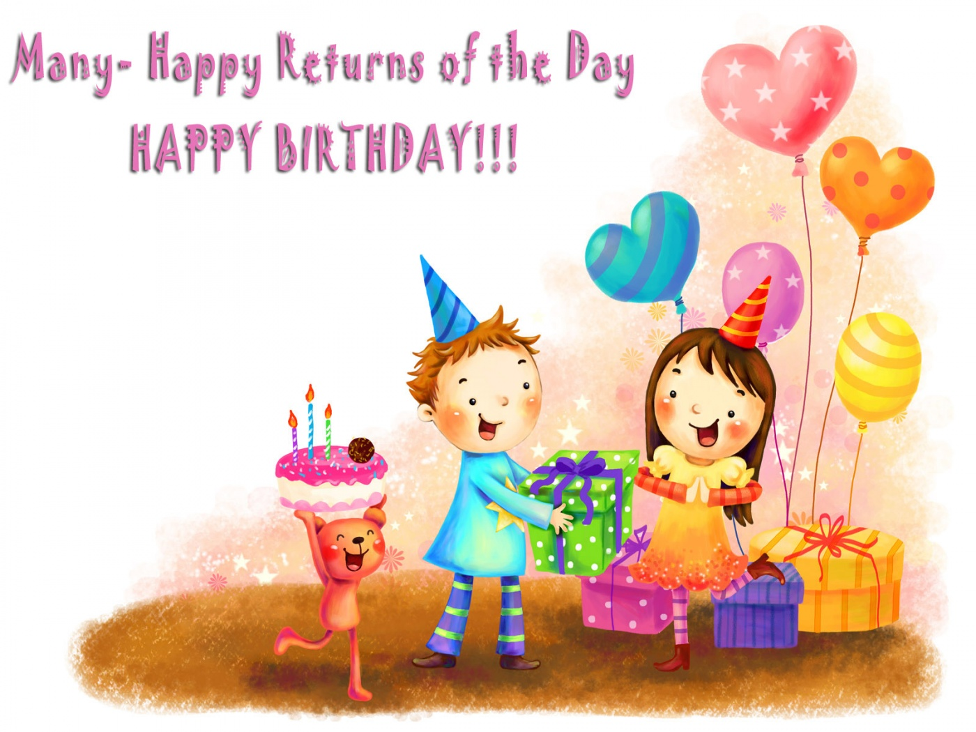 Wallpapers for Birthday Wishes WallpaperSafari – Free Birthday Sms Cards