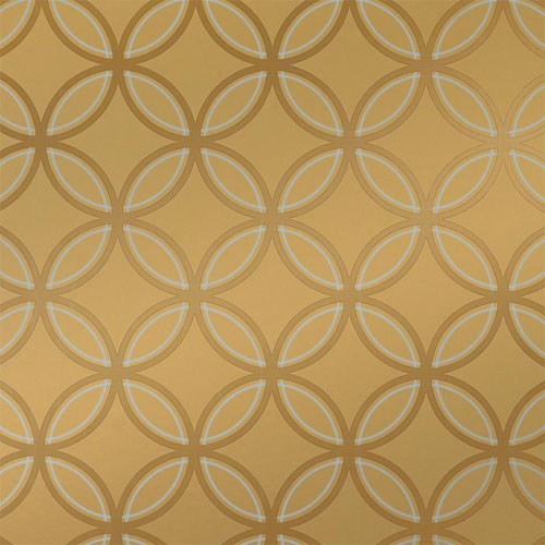 Kirkos Wallpaper in Metallic Gold   Geometric Wallpaper   Wallpaper 500x500