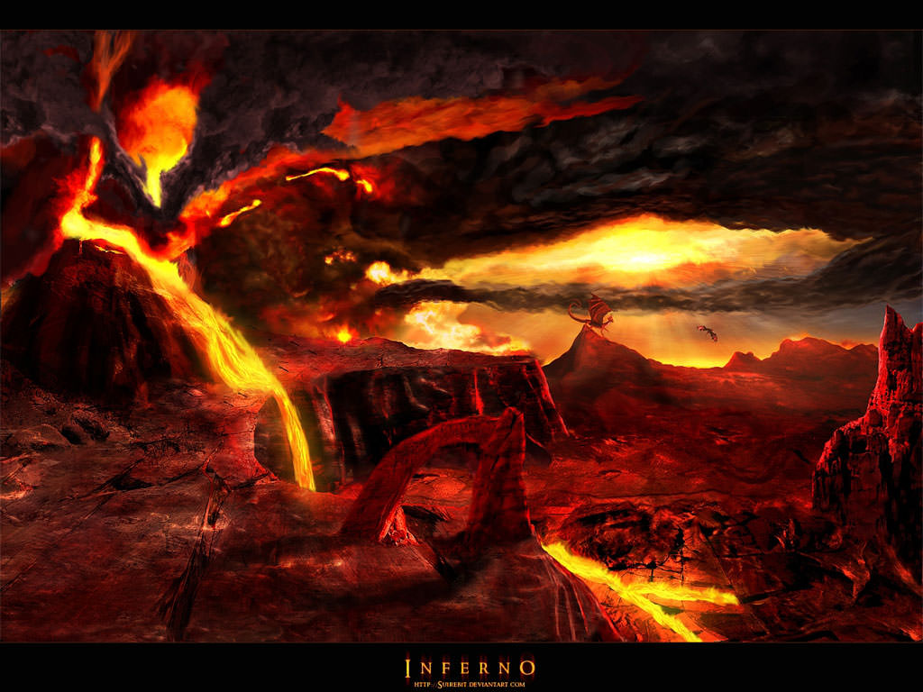 Wallpapers del Infierno 1024x768