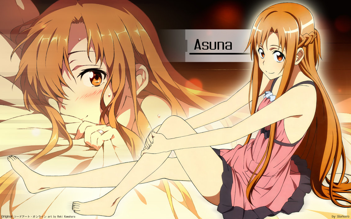 SAO Wallpaper   Asuna   01 by Slarkero 1131x707