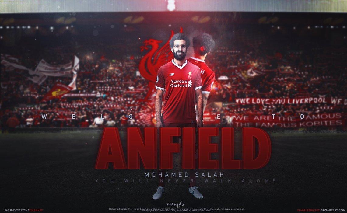98 Mohamed Salah Liverpool Wallpapers On Wallpapersafari