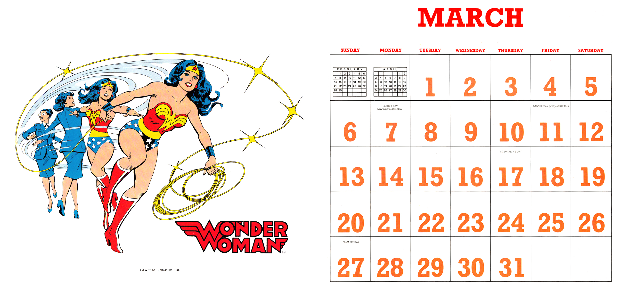 DC Super Powers 19882016 Wallpaper Calendar   Andertoons Cartoon Blog 2560x1200