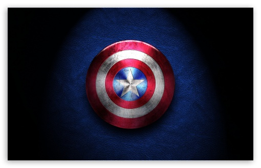 Captain America Shield HD wallpaper for Standard 43 54 Fullscreen 510x330