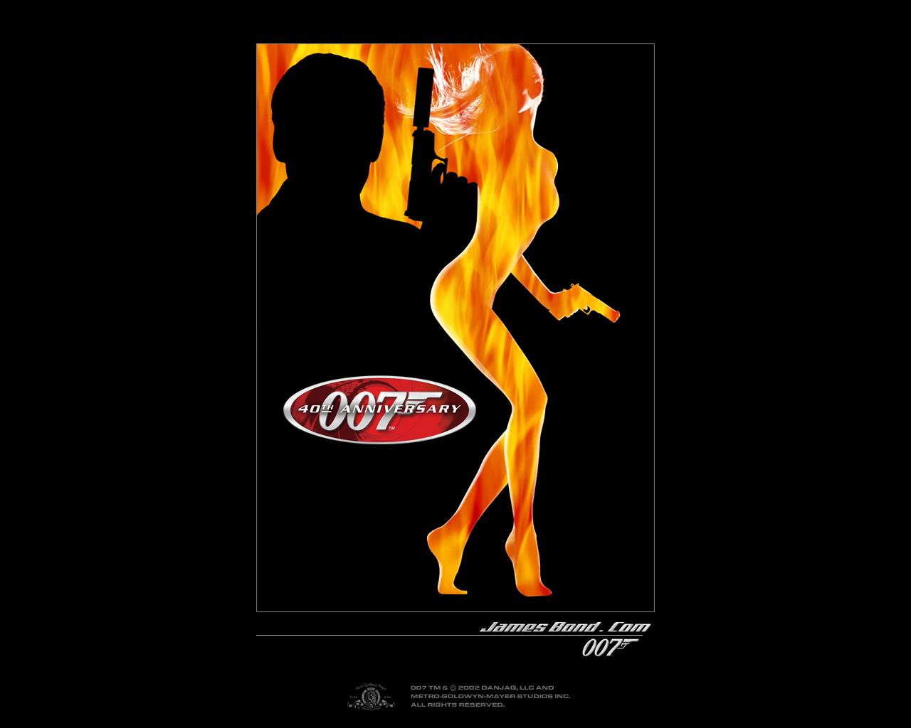 James Bond 007 Logo Wallpaper James bond wallpaper 1280x1024