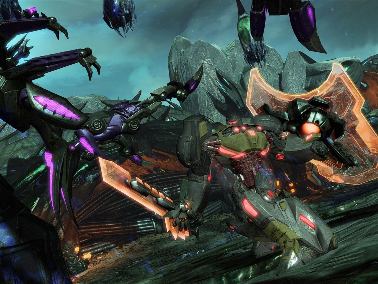 Transformers Fall of Cybertron HD Game Wallpapers 08 1280x960
