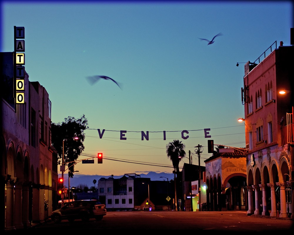 Venice Beach California Wallpaper 1000x800