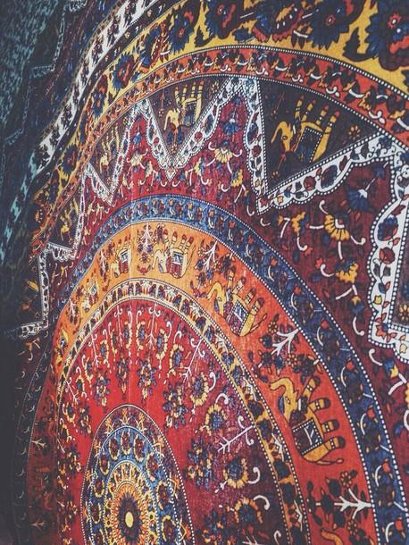 48 Boho Tapestry Wallpaper On Wallpapersafari