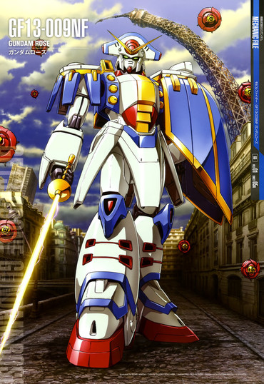 Mobile Fighter G Gundam   gundam rose 370x538