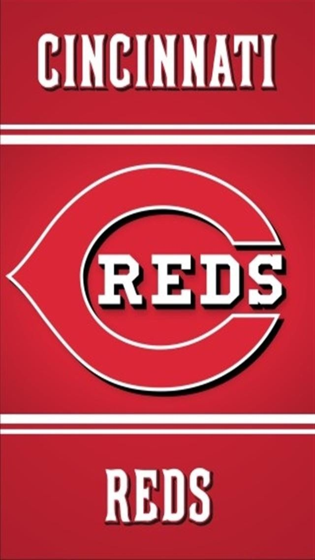 Pin Cincinnati Reds Wallpaper 640x1136