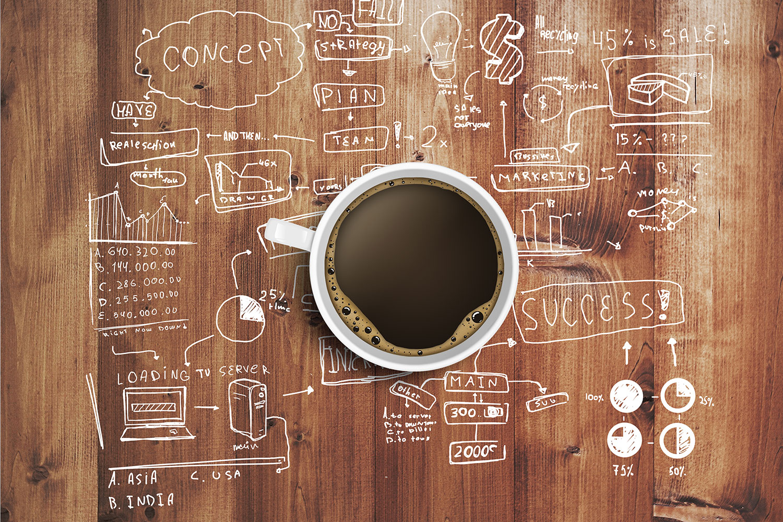 Coffee At Work Print A Wallpaper 1500x1000