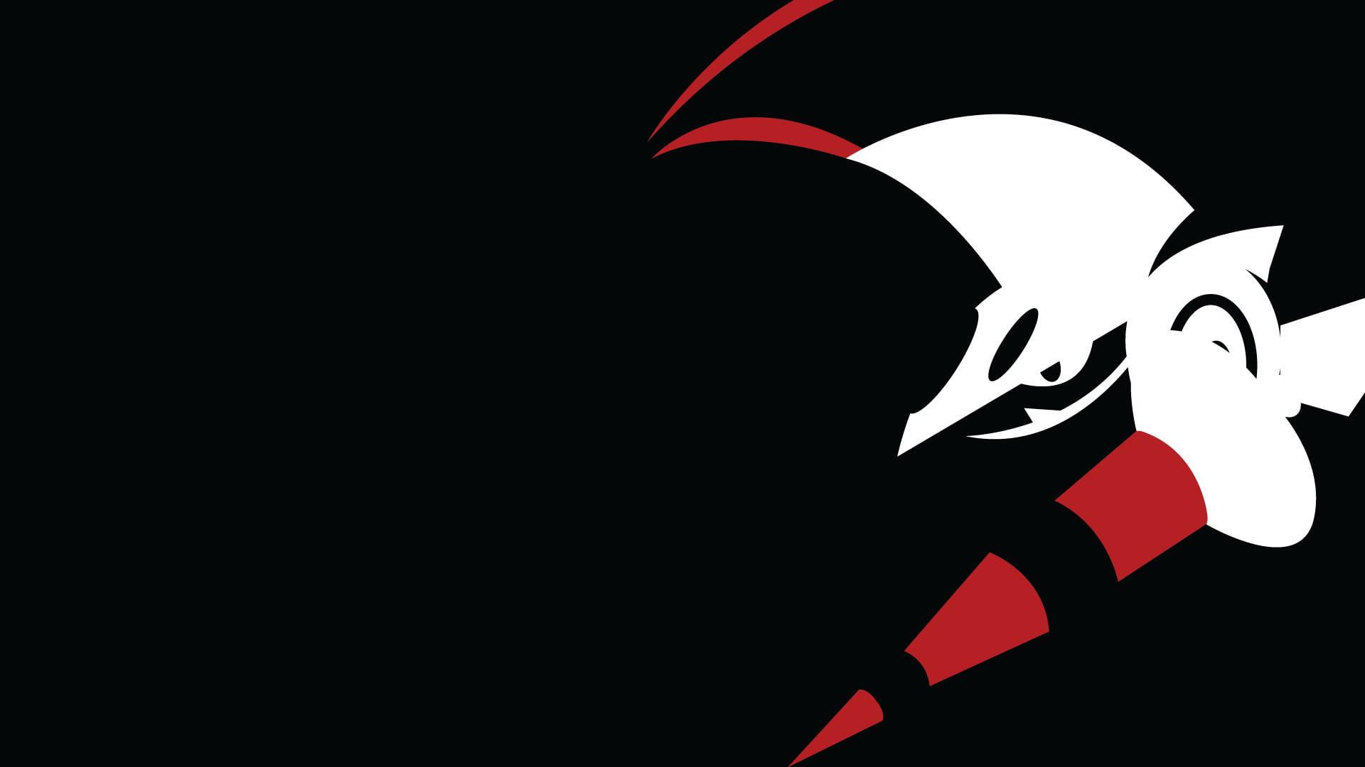 HD wallpaper Escavalier Minimalism Black Background red black 1920x1080