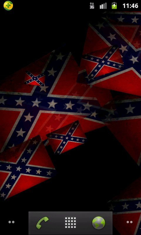 Confederate Flag live wallpaper android live wallpaper 480x800