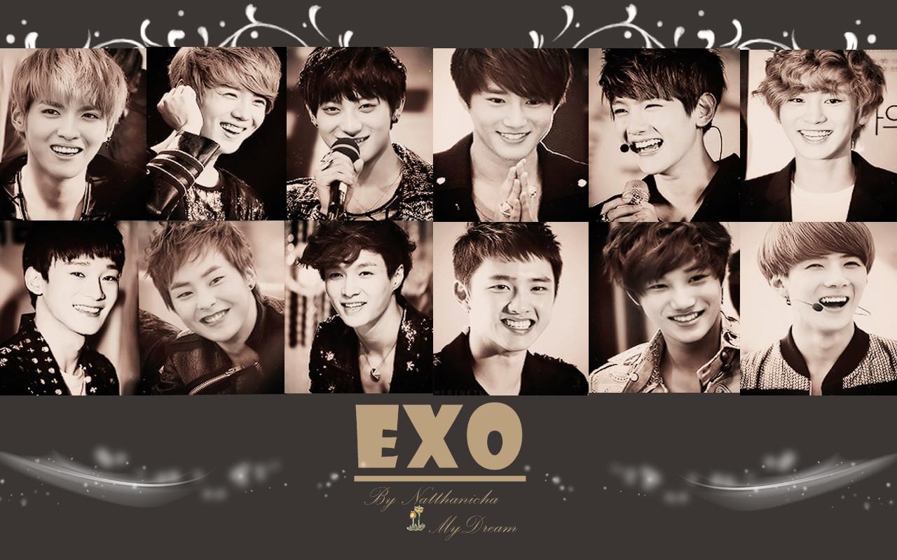 exo wallpaper   BlackPearlLuver Wallpaper 37711021 1280x800