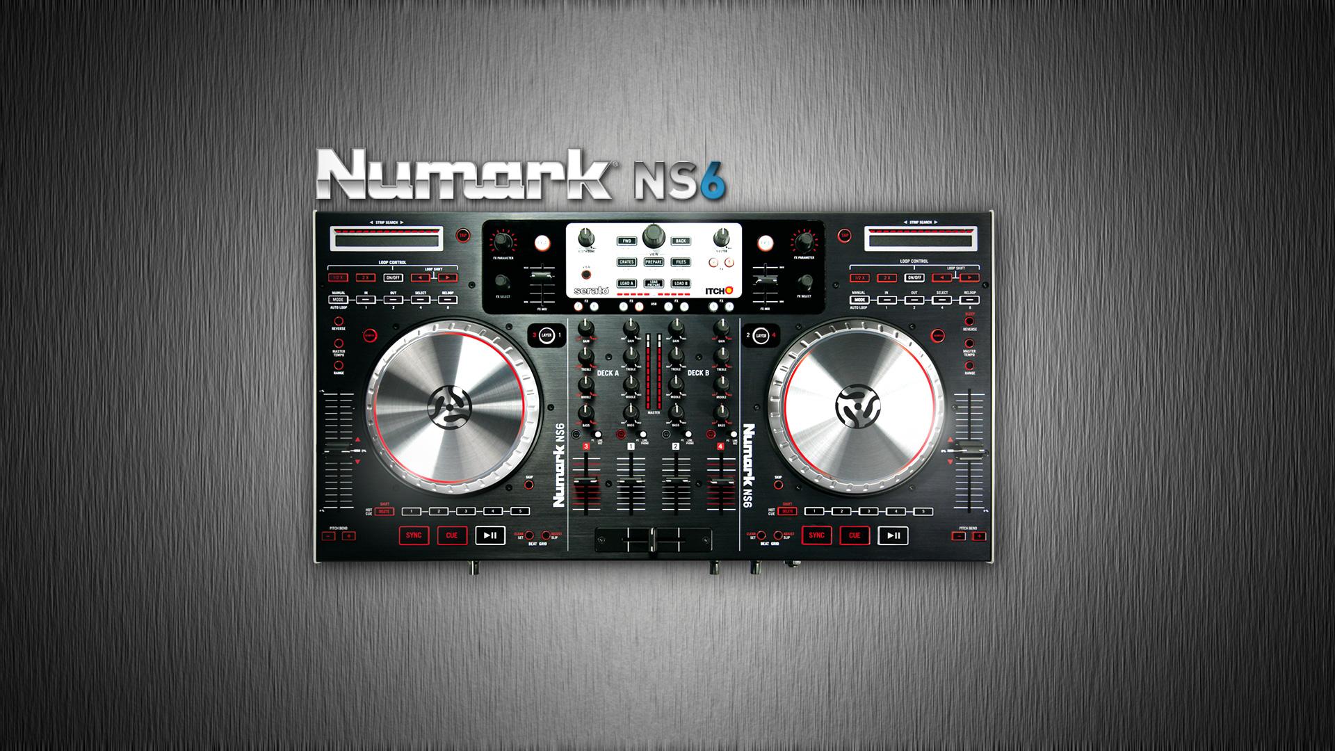 Numark Wallpaper - WallpaperSafari Numark Ns6 Wallpaper