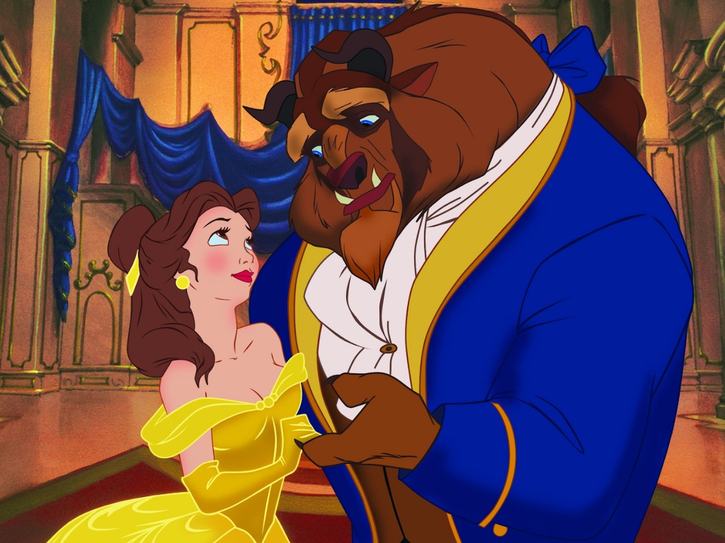 Free Download Disney Beauty And The Beast Cartoon Wallpaper