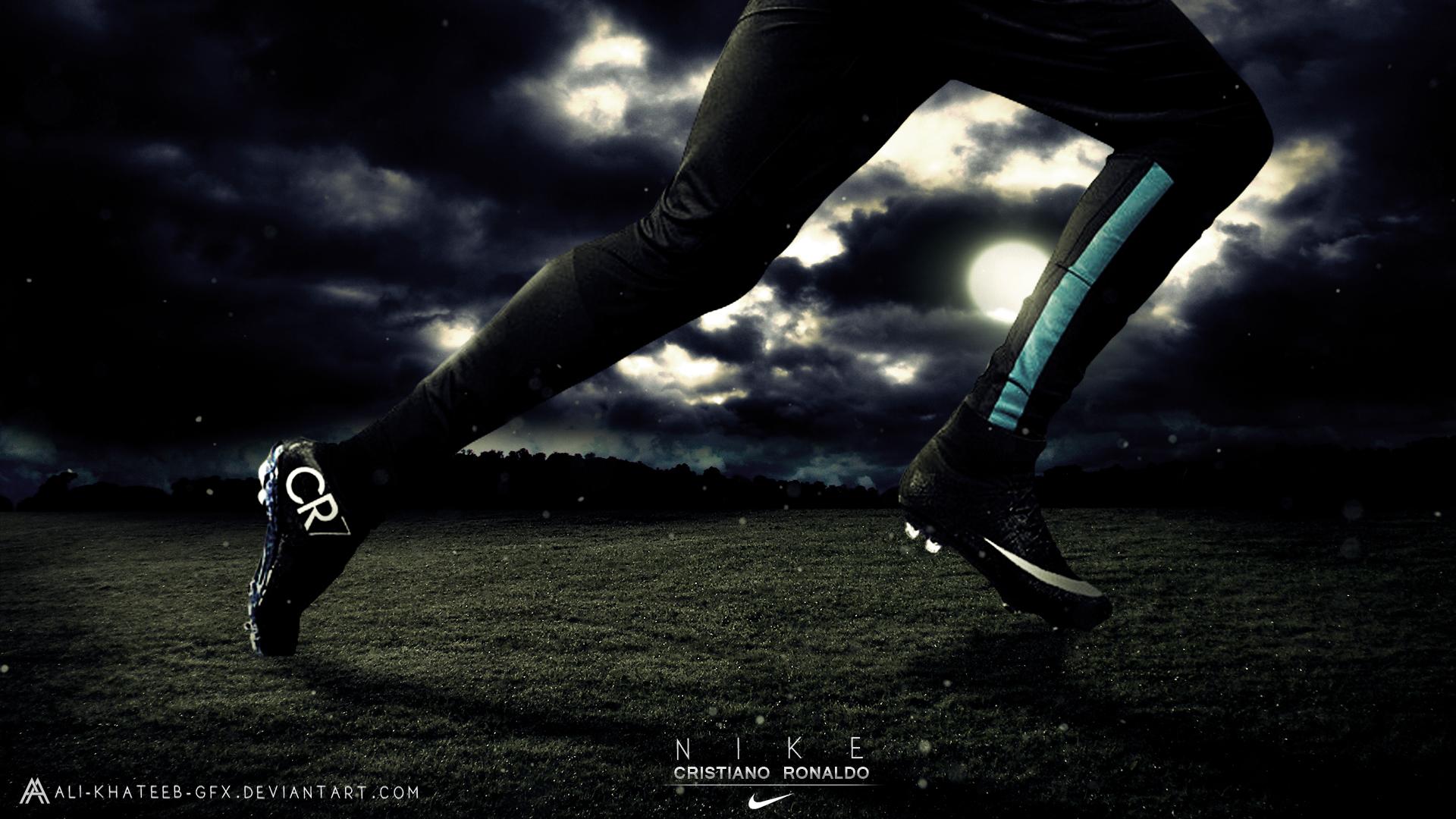 Download Cristiano Ronaldo Nike Hd Wallpaper By Ali Khateeb Gfx