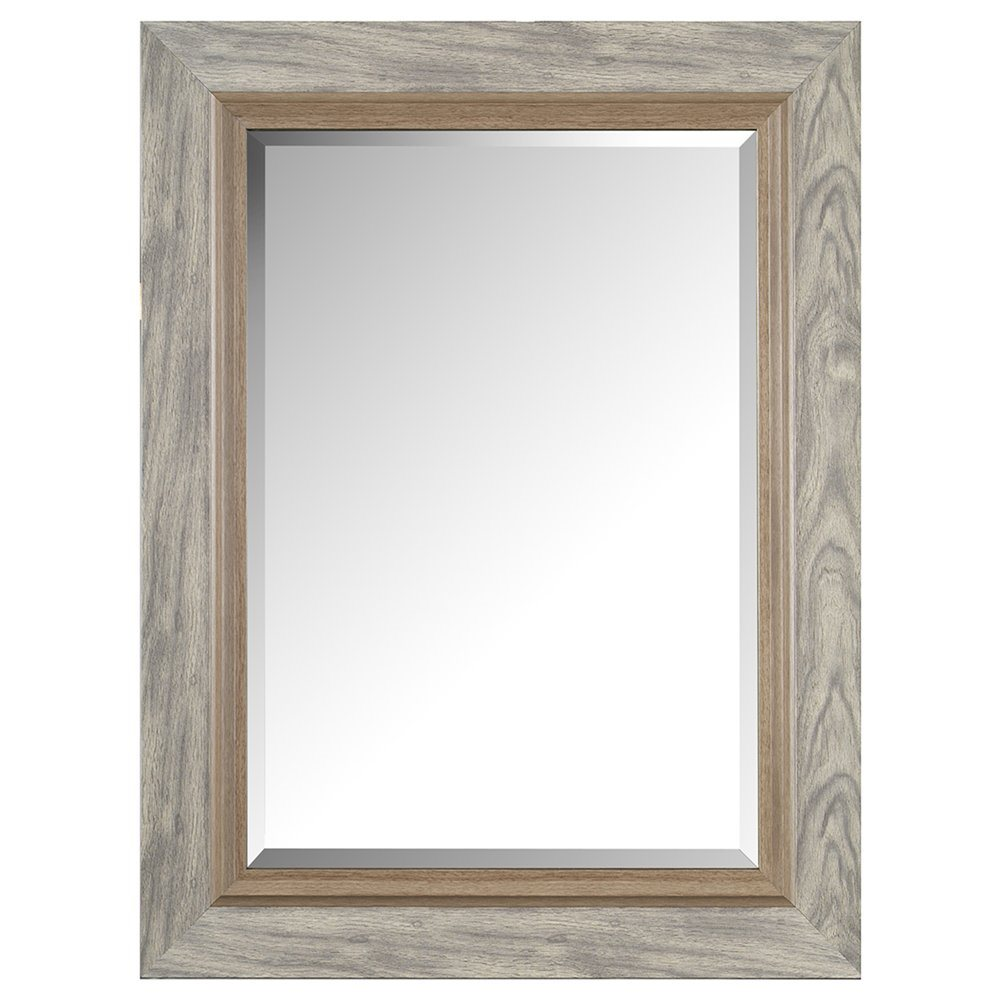 Elegant Washed Wood Look Two Tone Square Framed Mirror Lowes Canada 1000x1000