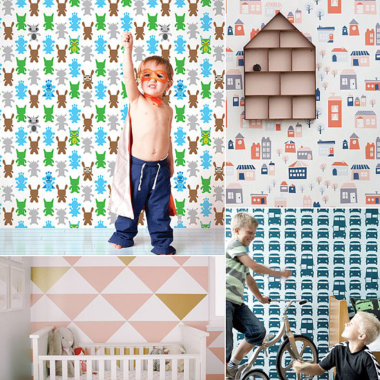 Temporary Wallpaper For Kids Rooms POPSUGAR Moms 550x550