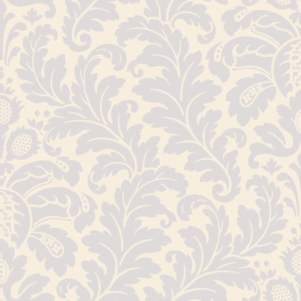 Blue Traditional Damask Wallpaper   Wall Sticker Outlet 600x600