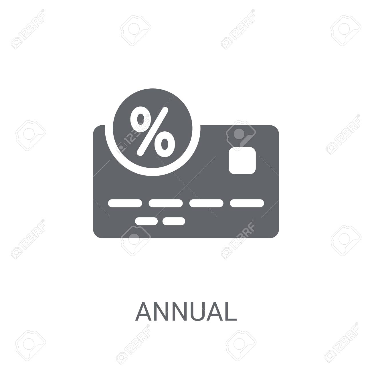 Annual Percentage Rate APR Icon Trendy Annual Percentage Rate 1300x1300